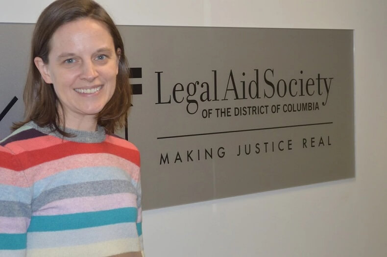 Legal Aid's Beth Harrison