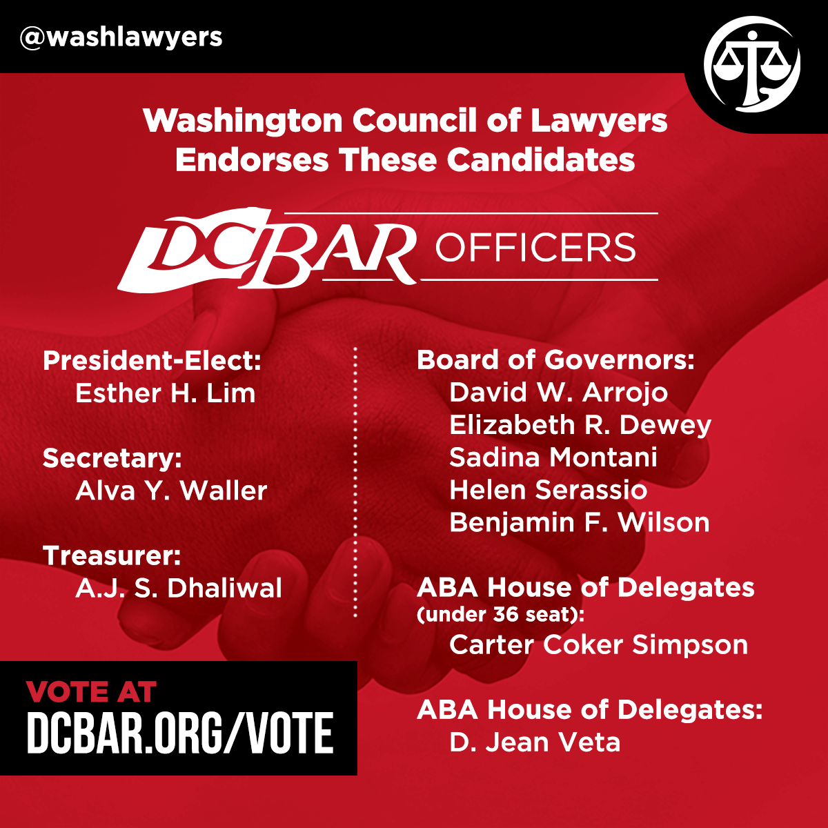 Graphic: DC Bar Endorsements 2017