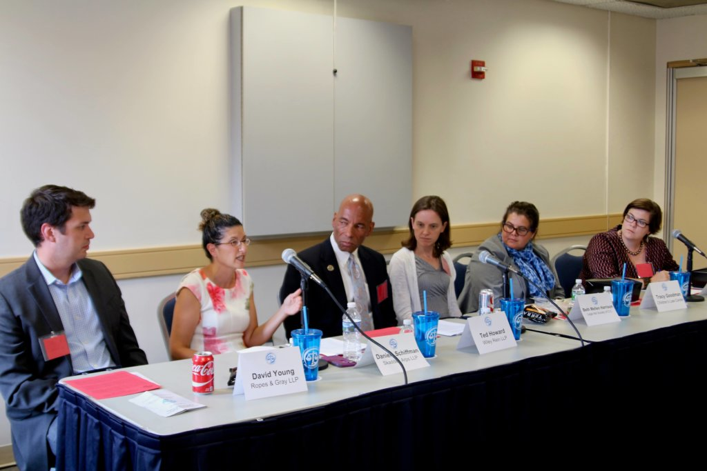 Photo: Poverty-law Panel