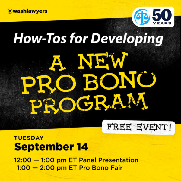 Graphic: How-Tos For Developing A New Pro Bono Program